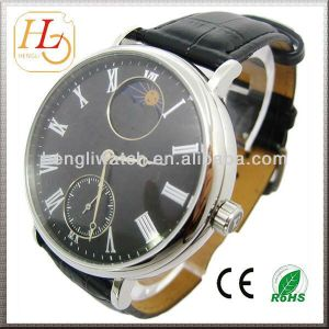 Automatic Watch, Japan Mechanical Watch with Genuine Leather (JA15007) pictures & photos