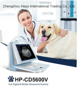 Portable Design Intelligent Color Doppler Ultrasound Machine for Veterinary pictures & photos
