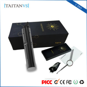 Adjustable Voltage Ceramic Heating Wax Herbal Dry Herb Tank Vaporizer pictures & photos