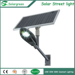 30W LED Solar Street Light for 7-8m Pole with Lithium Ion Battery pictures & photos