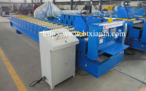 Color Steel Ibr Trapezoidal Roof Sheet Roll Forming Machine