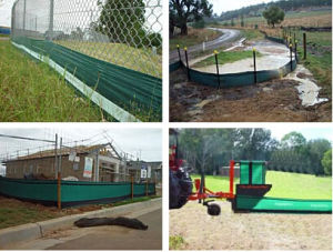 PP Sile Fence/PP Woven Geotextile/ PP Ground Covering/Weed Barrier pictures & photos