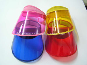 promotional Assorted Plastic Sun Visors (PM154) pictures & photos