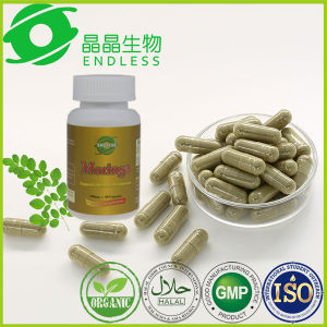 Herbal Extarct Green World Moringa Leaf Powder Capsules pictures & photos