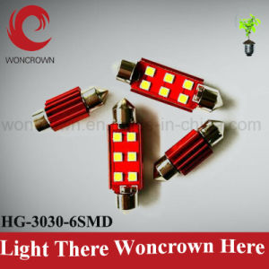High Power Festoon Auto LED Light Bulb, DC12-24V Ce RoHS, Reading / Dashboard/Working Lamp pictures & photos