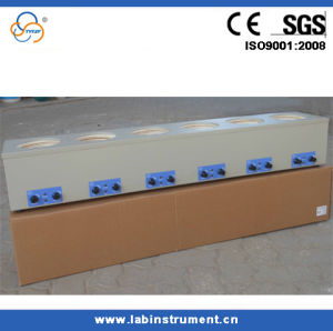 Ce High Quality Six Rows Magnetic Stirring Heating Mantle pictures & photos