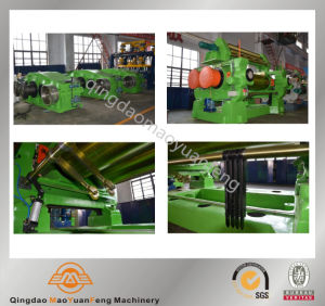 Qingdao Maoyuanfeng Xk-250~Xk-660 Two Rolls Rubber Mill/Open Mixing Mill pictures & photos