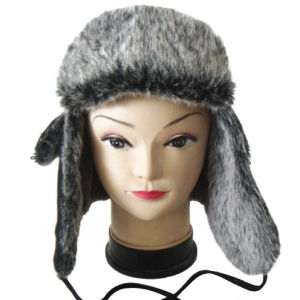 Hot Sell Fashion Unisex Warm Knitted Winter Heavy Fur Hat pictures & photos