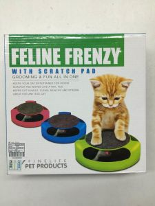 Feline Frenzy Pet Cat Toy with Rotating Mouse pictures & photos