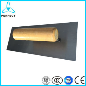 Carbon Steel Wood Handle Square Plastering Trowel pictures & photos