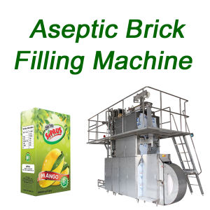 Aseptic Brick Filling Machine for Juice Milk Packing Machine Sxb-3000A pictures & photos