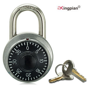 Stainless Combination Padlock for Warehouse Door with Master Key pictures & photos