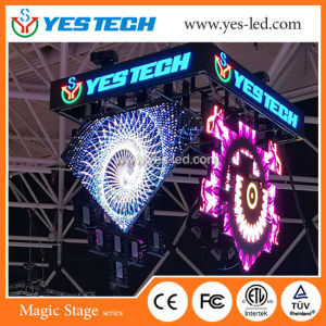 Special Shaped LED Display Screen (Diamond/ flower/Coin/Petal Shape) pictures & photos