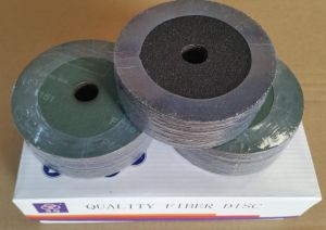 High Quality Silicon Carbide Fiber Disc/Sanding Disc/Resin Fiber Disc/Coated Disc pictures & photos