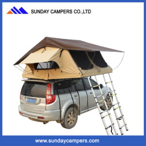 Double Ladder off Road 4X4 Outdoor Camping Rooftop Tent for Sale pictures & photos