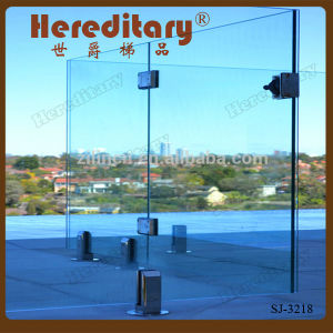 Above Ground Frameless Glass Railing for Balcony (SJ-3218) pictures & photos