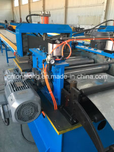 Punching on Line Storage Shelves Roll Forming Machine pictures & photos