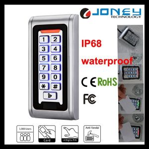 Joney 125kHz Em RFID Waterproof Access Control Keypad pictures & photos