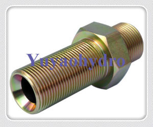 Hydraulic Adapter Fittings with High Quality and Carbon Steel Material pictures & photos