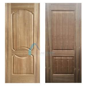 High Quality HDF Door Skin with Natural Teak Veneer pictures & photos