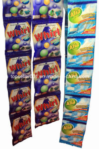 30g Africa Small Packaging High Foaming Detergent Powder pictures & photos