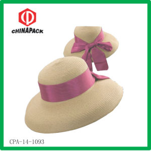 Lady Summer Paper Straw Hat (CPA-14-1093) pictures & photos