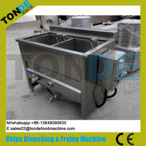 30/50/100/200kg/H Semi Automatic Fried Wavy Potato Chips Making Machine pictures & photos