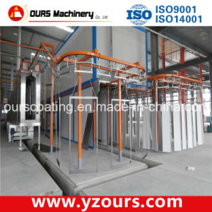 Complete Electrostatic Powder Coating and Powder Painting Line pictures & photos