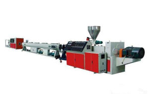 Conical Twin Screw Extruder (1) pictures & photos