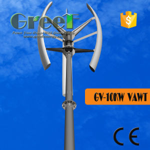 10kw 100rpm Vertical Axis Wind Turbine with BV pictures & photos