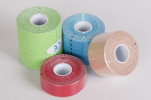 Kinesiology Sport Tape with Quality Adhesive pictures & photos
