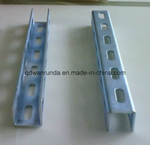 Hot DIP Galvanized Slotted Steel Strut C Channel pictures & photos