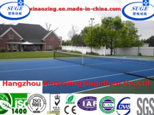 Customized Non-Toxic Suspended Tennis Flooring pictures & photos