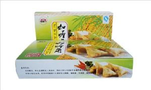 IQF Frozen 100% Hand Made Vegetable 17g/piece Cylinder Spring Rolls pictures & photos