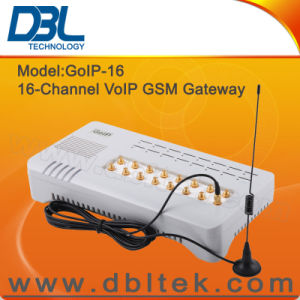 16 SIM Card GoIP GSM Gateway GoIP16 pictures & photos