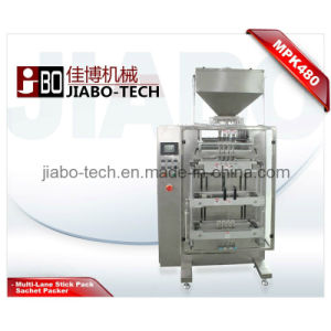 Multi-Lane Granule Stick Sachet Packing Machine (MPK480) pictures & photos