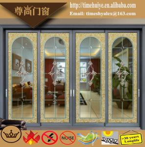 Aluminum/Aluminium Hanging Sliding Door Model Z-018 pictures & photos