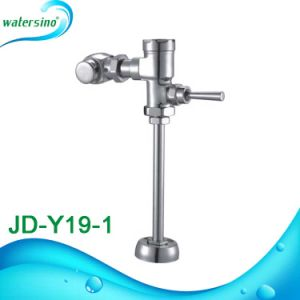 Public Bathroom Brass Toilet Hand Operated Flush Valve pictures & photos