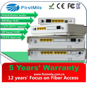 CPE Router with 4 LAN and 2 Phone Pots Ports and 300Mbps WiFi pictures & photos