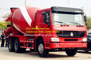 China Cement Mixer Truck with Drum Volume of 10m3