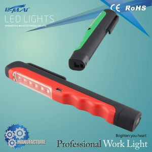 Popular Product 6+1 Clip Pen LED Light (HL-LA0226B)