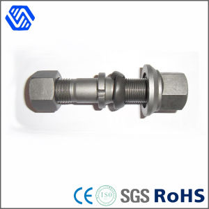 Hex Flange Bolt 10.9 Grade High Tensile Stud Wheel Bolts and Nuts pictures & photos
