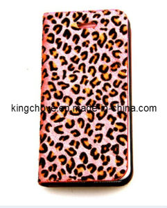 Best Selling Animal Leather for iPhone 5 Case (KCI07-3) pictures & photos