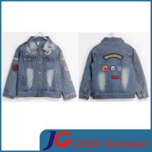 Kids Denim Outwear Jacket (JT8006) pictures & photos