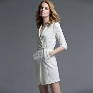 High Quality Fashion Office Ladies New Dresses Formal Dress Pictures Office Dress for Ladies pictures & photos