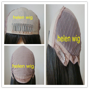 Virgin Brazilian Hair Silk Top Glueless Jewish Lace Wig
