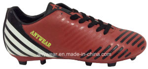 Soccer Football Boots with TPU Outsole for Men Shoes (815-5510) pictures & photos
