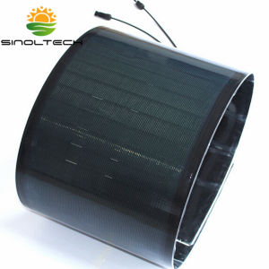 120W Flexible PV Panels with Adhesive Back pictures & photos