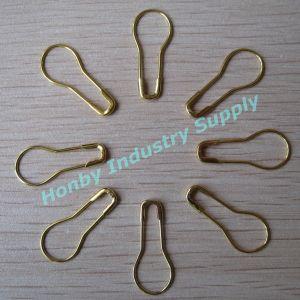 Bulk 22mm Pear Shape Shiny Gold Surface Knitting Marking Pin