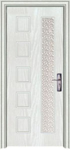 MDF PVC Door in China (PVC MDF DOOR) pictures & photos